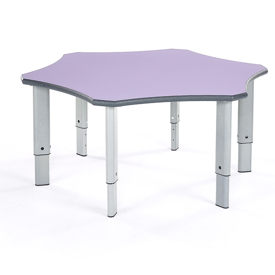 Height Adjustable Classroom Flower Table