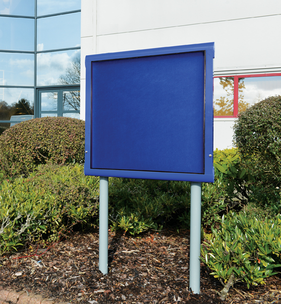WeatherShield Freestanding School External Notice Board