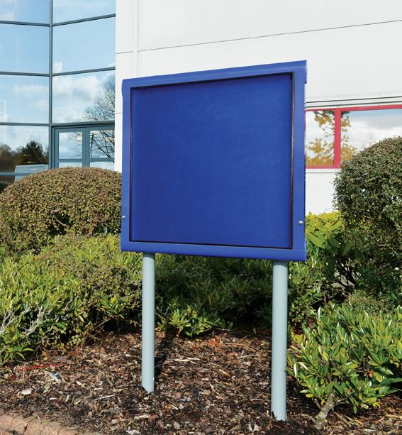 WeatherShield Freestanding School External Notice Board