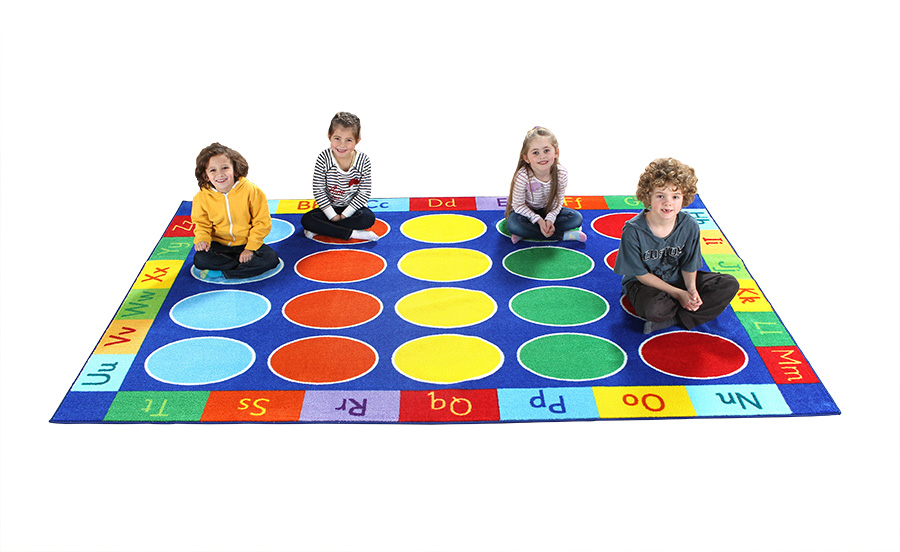 Rainbow ABC Rugs