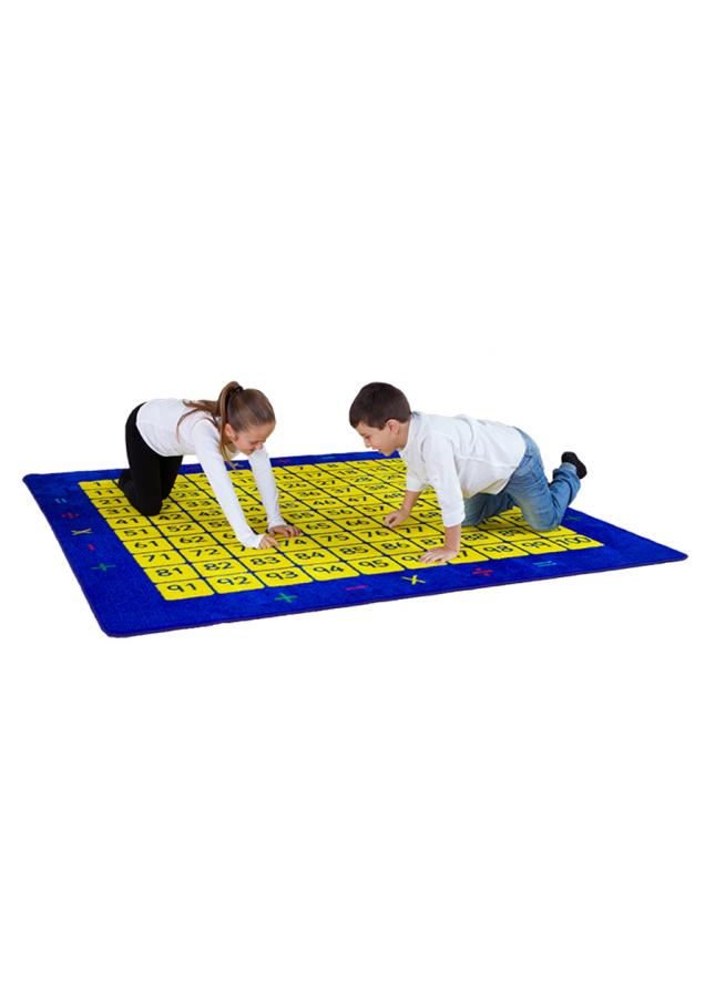 100 Square Counting Grid Number Rugs
