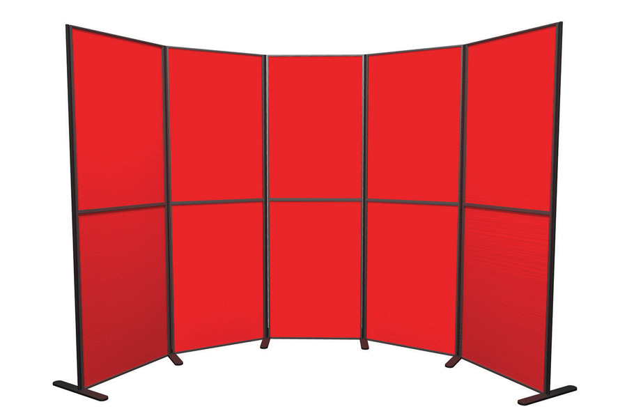 10 Panel and Pole School Presentation Boards